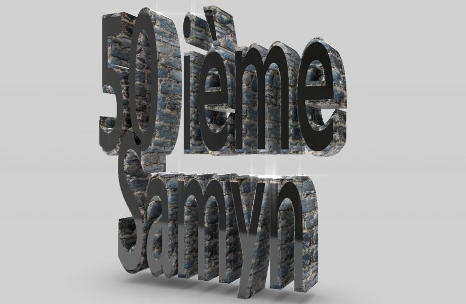 50 anniversaire du Samyn